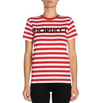 Fiorucci Logo Stripe T-Shirt