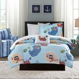 Mi Zone Kids Ahoy Matey Complete Bed and Sheet Set - Twin