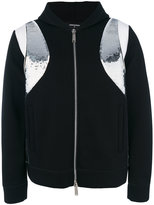 DSQUARED2 contrast panel bomber jacket