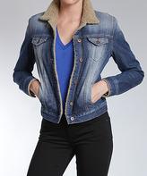 Mavi Jeans Dark Indigo Blue Kaira Denim Jacket - Women
