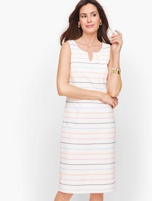 Talbots Biscay Sheath Dress - Stripe