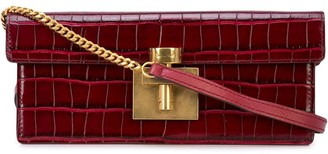 Oscar de la Renta Alibi box clutch