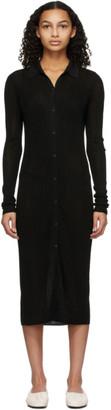Rag & Bone Black Button-Down Pacey Dress