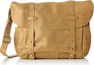 Mila Louise Womens 3024G Cross-Body Bag Yellow Yellow (SAFRAN 46)