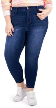 Celebrity Pink Trendy Plus Size Sienna Tummy-Control Skinny Jeans