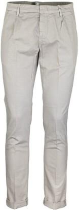 Dondup Gaubert Stretch Cotton And Linen Pants Trousers