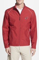 Cutter & Buck Men's Big & Tall Arizona Cardinals - Beacon Weathertec Wind & Water Resistant Jacket