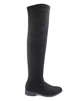 Simply Be Sienna Super Curvy Calf Extra Wide Fit