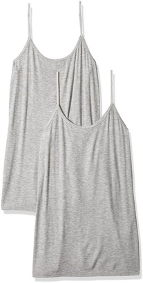 Daily Ritual Amazon Brand Women's Ribbed Cami 2-Pack