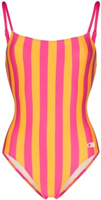 Solid & Striped Nina striped swimsuit