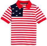 Vineyard Vines Boys' Usa Flag Polo