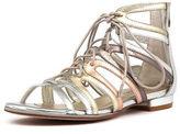 Django & Juliette New Odessa Metallic Multi Womens Shoes Dress