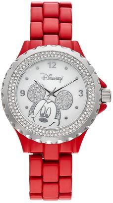 Disney Disney's Mickey Mouse Women's Crystal Watch