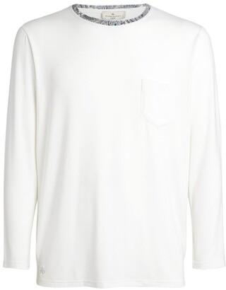 Homebody Contrast-Trim T-Shirt