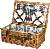 Asstd National Brand Picnic Time Newbury Picnic Basket for Four