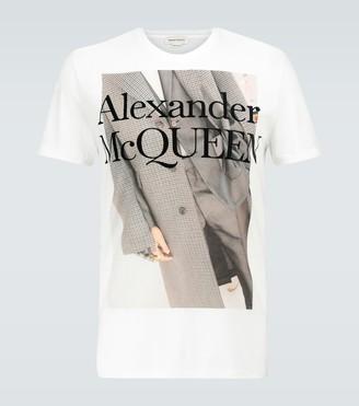 Alexander McQueen Cotton printed T-shirt