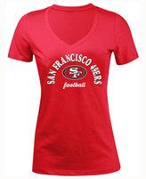 5th & Ocean Women's San Francisco 49ers Checkdown LE T-Shirt