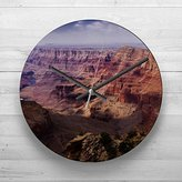 Large 32cm Analog Wall Clock - The Grand Canyon (10) - Silent Non-Ticking Quartz Movement - FREE DELIVERY