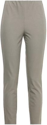 Rag & Bone Simone Cropped Houndstooth Cotton-blend Slim-leg Pants