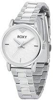 Roxy Women's RX/1019WTSV THE HUNTINGTON Silver-Tone Bracelet Watch