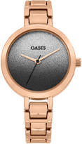 Oasis GOLD TONE OMBRE WATCH*