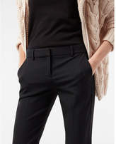 Express mid rise pinstripe columnist barely boot pant