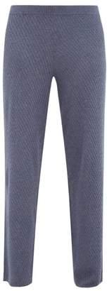 Skin - Kamala Infused Cotton-blend Pyjama Trousers - Womens - Navy