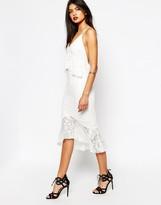 Bec & Bridge Marvel Midi Dress in Lace