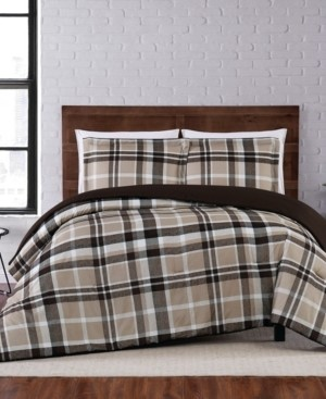 Truly Soft Paulette Plaid Twin Xl Comforter Set Bedding