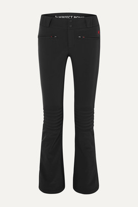 Perfect Moment Aurora Padded Flared Ski Pants - Black