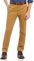 Roundtree & Yorke Casuals Flat Front Trim Fit Chino Pants