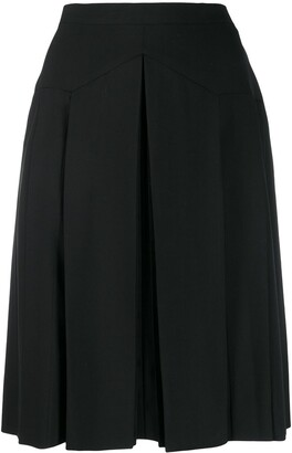 Chanel Pre-Owned 1990's box pleat short skirt