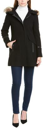 trina Trina Turk Trina By Trina Turk Wool-Blend Coat