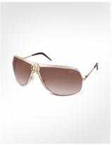 Alcippe - RC Central Logo Metal Aviator Sunglasses