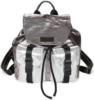 KENDALL + KYLIE Metallic Colorblock Backpack