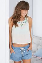 aerie Embroidered Tank