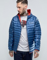 Columbia Flash Forward Down Jacket Hooded Lightweight Quilt