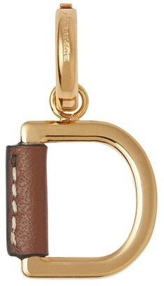 Burberry Leather-wrapped D Alphabet Charm