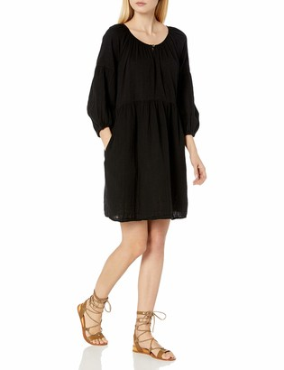 Velvet by Graham & Spencer Women's Malia Slub Gauze Peasant Dress