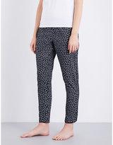 Calvin Klein Printed cotton pyjama bottoms