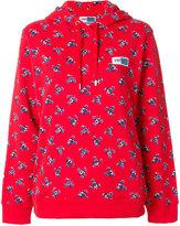 Kenzo floral print hoodie