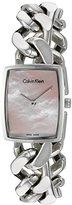 Calvin Klein Women's 'Amaze' Swiss Quartz Stainless Steel Watch, Color:Silver-Toned (Model: K5D2M12E)