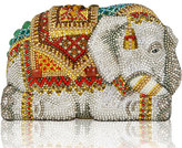 Judith Leiber Couture Crystal-Encrusted Elephant Clutch Bag, Red/Multi