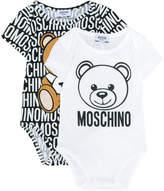 Moschino Kids bear print branded bodies