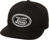 Volcom Cresticle Snapback Cap Black