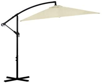 Milano Outdoor Square Umbrella 2.2m Beige