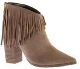 Kenneth Cole Reaction Women's Pull Ashore Fringe Bootie.