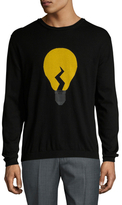Fendi Bulb Cashmere Crewneck Sweater