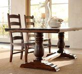 Pottery Barn Bowry Fixed Dining Table + Wynn Chair Set