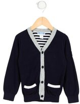 Jacadi Boys' Knit Button-Up Cardigan